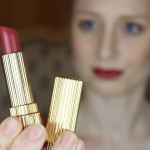 Estee Lauder Lippenstift Woodland Berry als Hightlight des Monday's Makeup