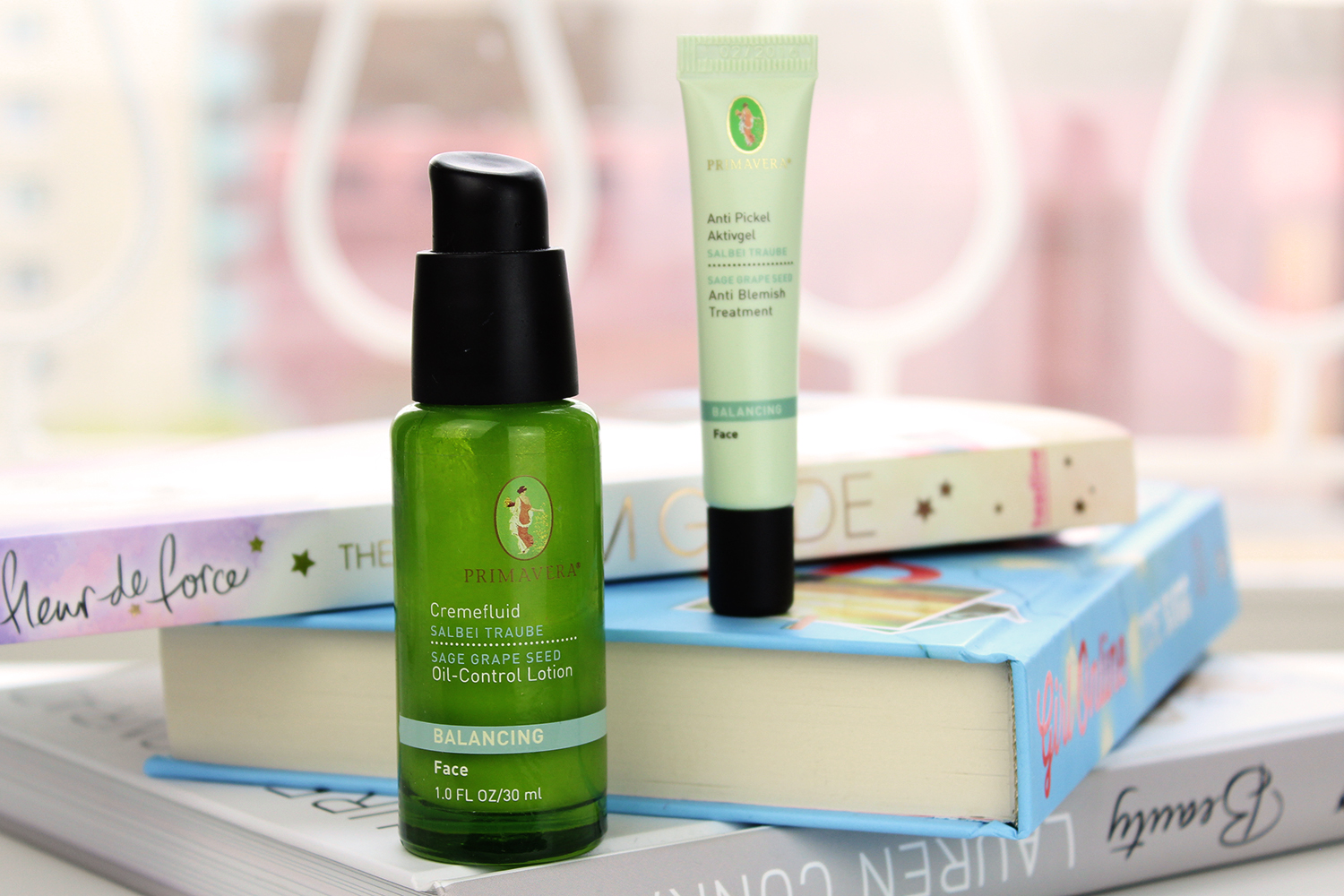 Advance-your-style.de, Beautyblog, Berlin, Review, Naturkosmetik, Pflege für unreine Haut, PRIMAVERA Salbei Traube, Cremefluide, Anti-Pickel Aktivgel