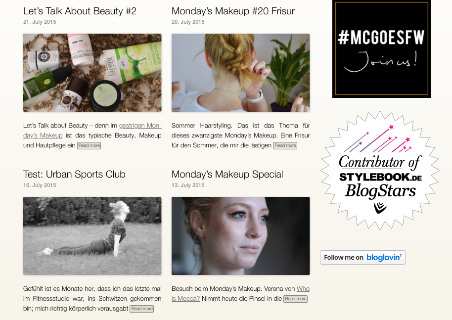 Advance your style, Modeblog, Berlin, Beautyblog, News, neues Blogdesign, Yootheme, Organic, Layout