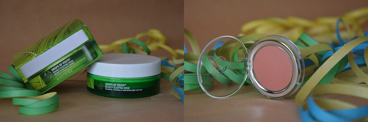 advanceyourstyle, beautyblog, berlin, Sonntag's Quicky, neu, The body Shop, Drops of youth bouncy sleeping Mask, Blush 07 Amber