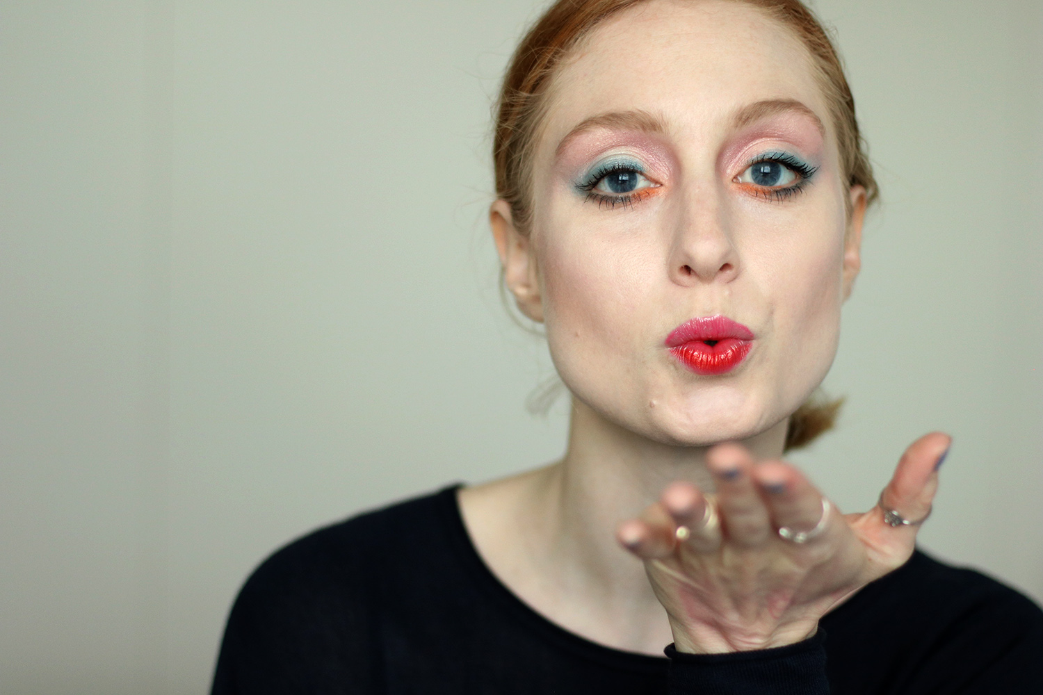 Buntes Makeup, Mutiges Makeup, Fasching, Frühling, Helle Haut, Makeup Tutorial, Monday's Makeup, Beautytipps, Beautyblog, Berlin, Influencer, Advance Your Style, ZOEVA Lidschatten Primer