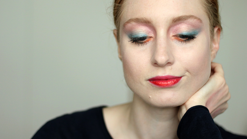Buntes Makeup, Mutiges Makeup, Fasching, Frühling, Helle Haut, Makeup Tutorial, Monday's Makeup, Beautytipps, Beautyblog, Berlin, Influencer, Advance Your Style, Titelbild