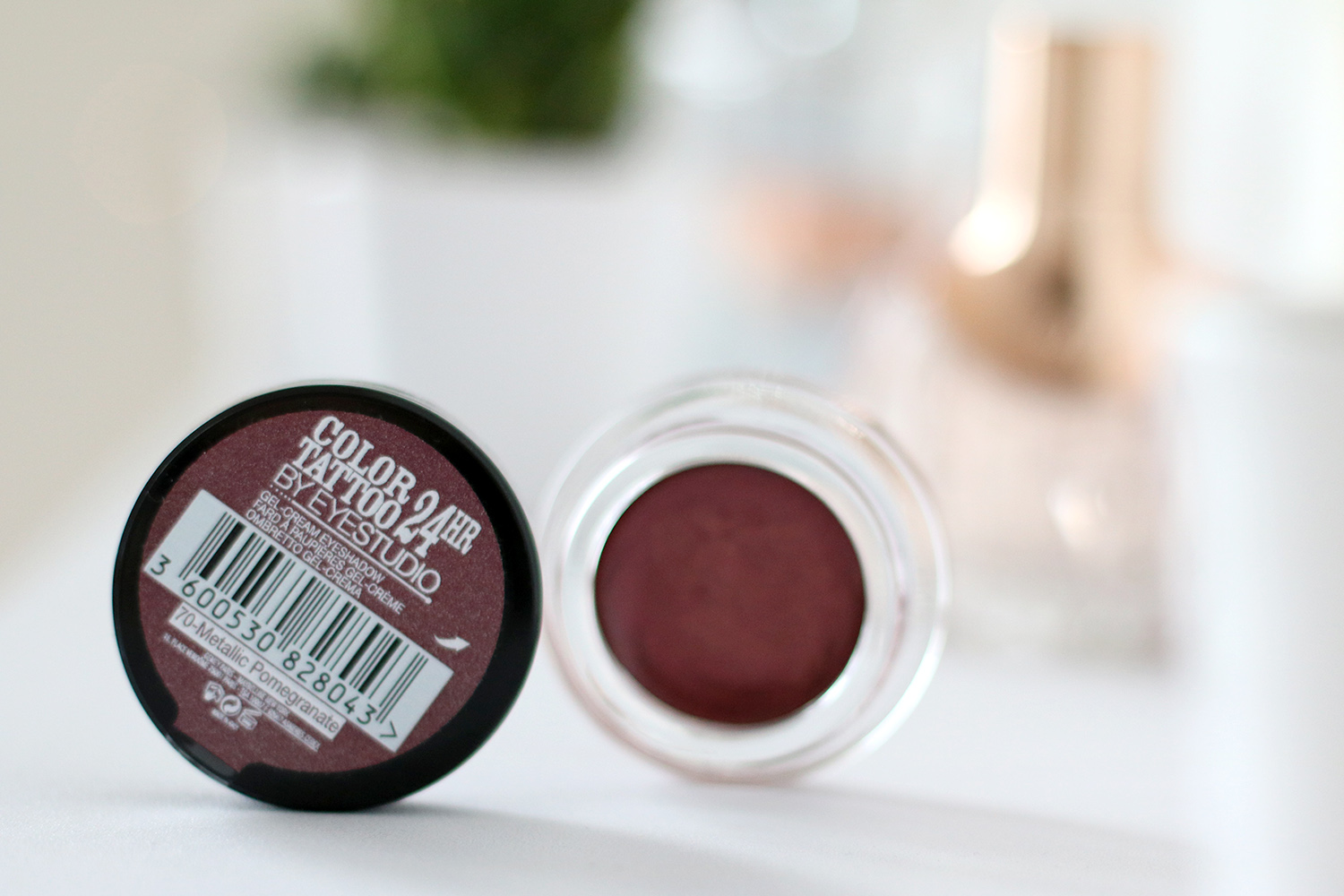 Color Tatoo 24 hr Lidschatten Maybelline, 70 metallic pomegranate, Beauty Haul Deutsch, Review, Beauty Blog, Berlin, Influencer, Youtuber, Advance Your Style, advanceyourstyle