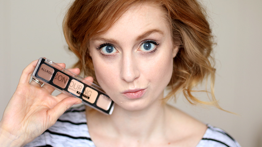 Titelbild, Conturing Tipps, Kontur setzten, Kontur, CATRICE ALLROUND Contouring Palette, Review, Test, Swatch, Tagesmakeup, Alltagsmakeup, helle Haut, rote Haare, Makeup Tutorial, Monday's Makeup, Beautytipps, Beauty Blog, Berlin, Influencer, Advance Your Style, advanceyourstyle