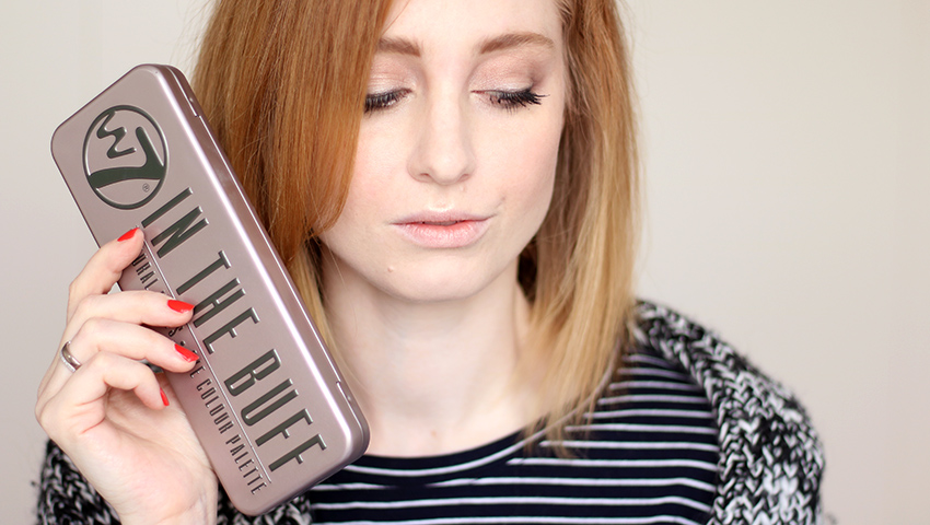 Makeup für helle Haut, Titelbild, W7 In The Buff, Lidschattenpalette, Dupe, Urban Decay., Naked 2, Swatch, Test, Review, Erfahrungsbericht, Beauty Blog, Berlin, Monday's Makeup, Beauty Tipps, Influencer, Youtuber, Advance Your Style, advanceyourstyle