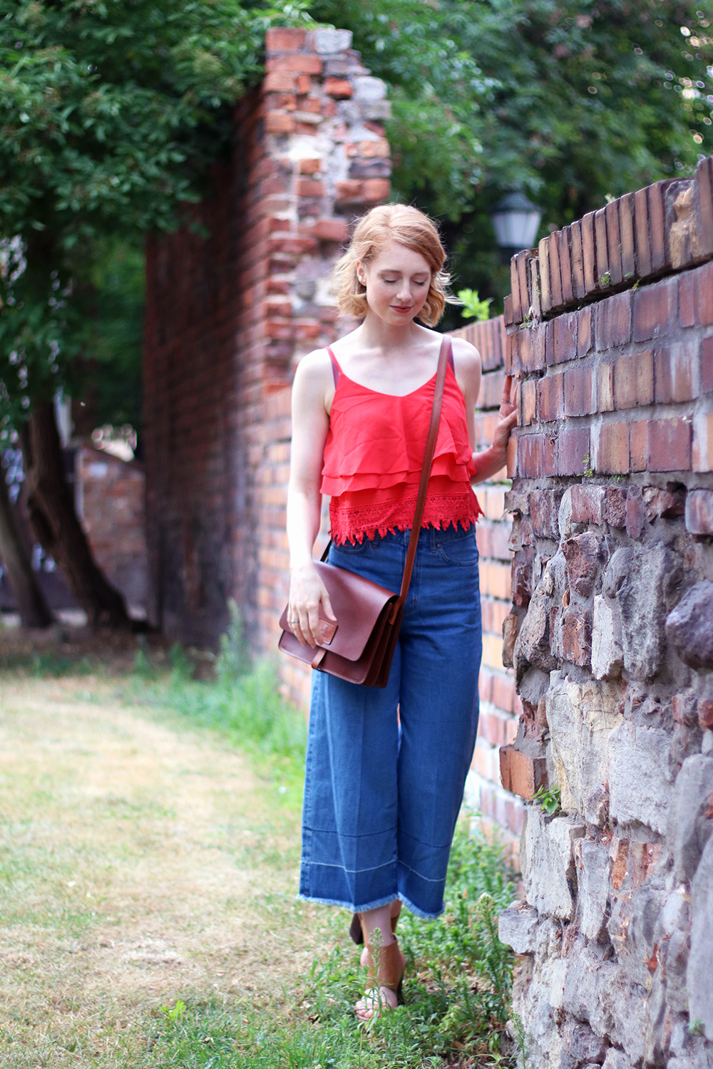 Sommerlook, Jeans Culotte, Hose, Sommer Look, Outfit, Tipps, Streetstyle, Modetipps, Finde deinen Stil, Influencer, Deutschland, Berlin, Mode Blog, Modeblog, Advance Your Style, advanceyourstyle