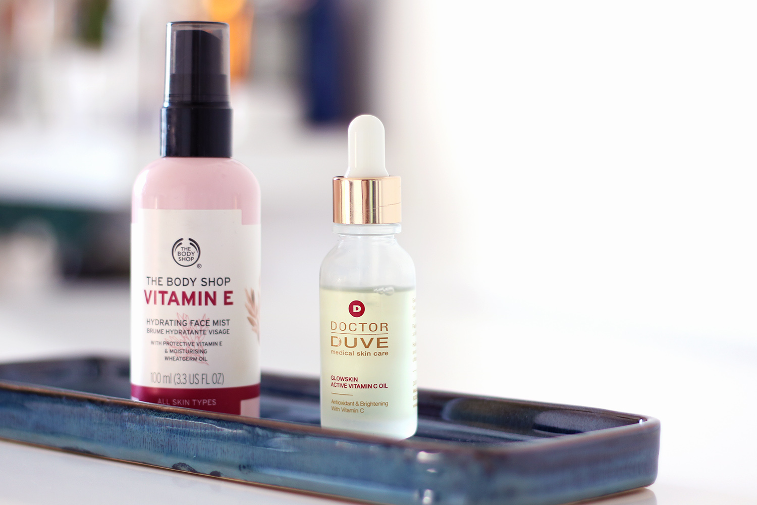 Doctor DUVE Gesichtsöl, THE BODY SHOP, Vitamin E, Face Mist, Top Beauty Tools, Beauty Favoriten, Make-up, Trends, Review, Let's Talk About Beauty, Blogserie, Beauty Blog, Berlin, Influencer, advanceyourstyle, Advance Your Style