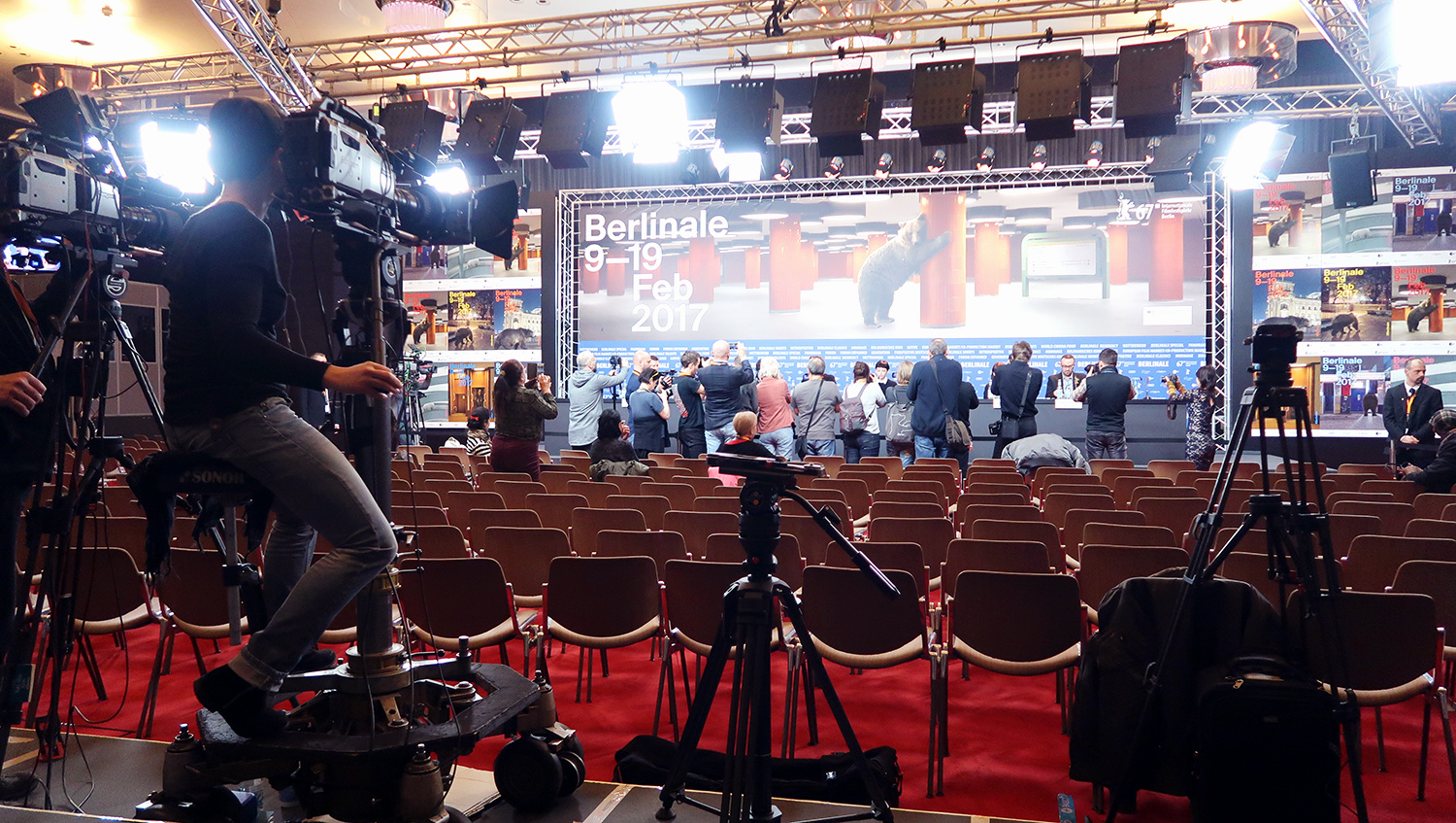 Pressekonferenz, Presse Center, Berlinale, 67, Berlin, Hinter den Kulissen, Lifestyleblog, Advanceyourstyle, Youtube