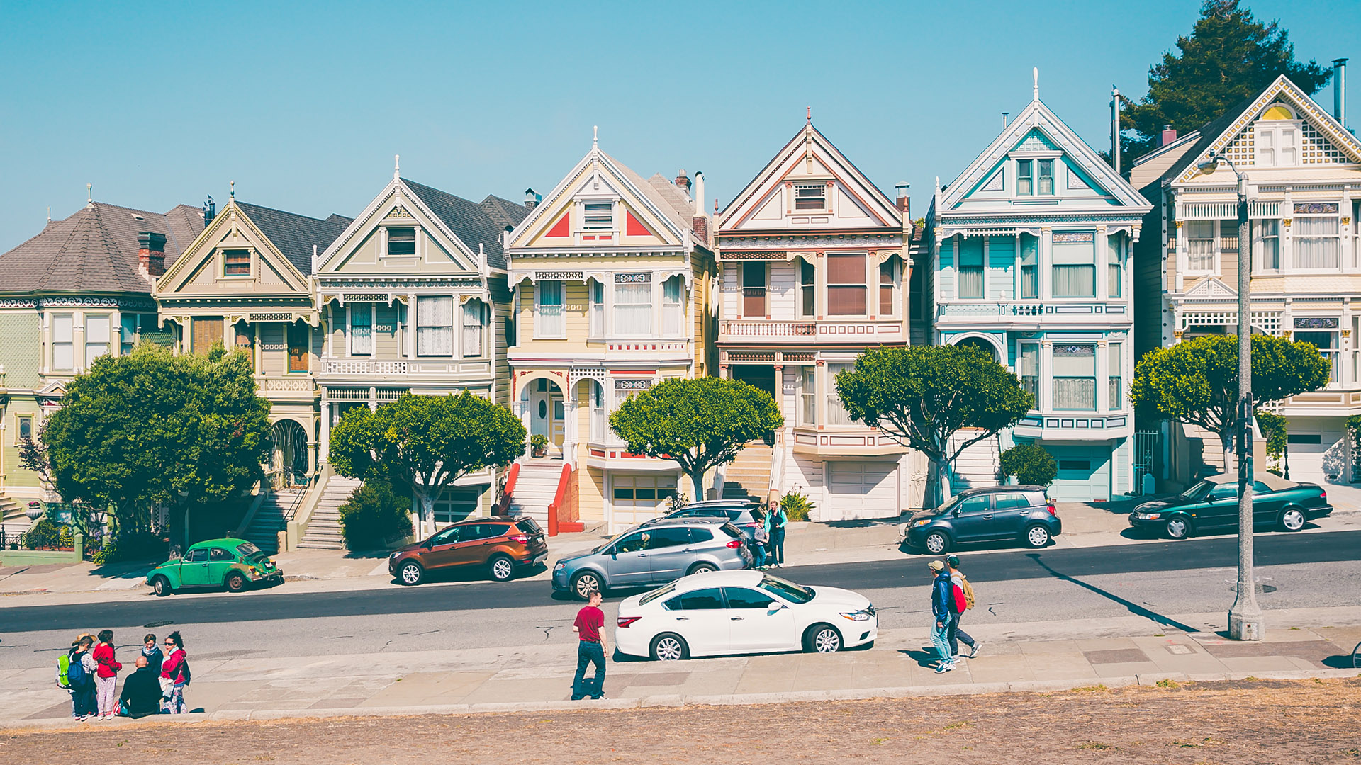 Painted Ladies, Sehenswürdigkeit, Top 5 Cafes in San Francisco, Reisetipps, San Francisco, San Francisco Tipps, USA, Reiseblog, Lifestyle, advanceyourstyle