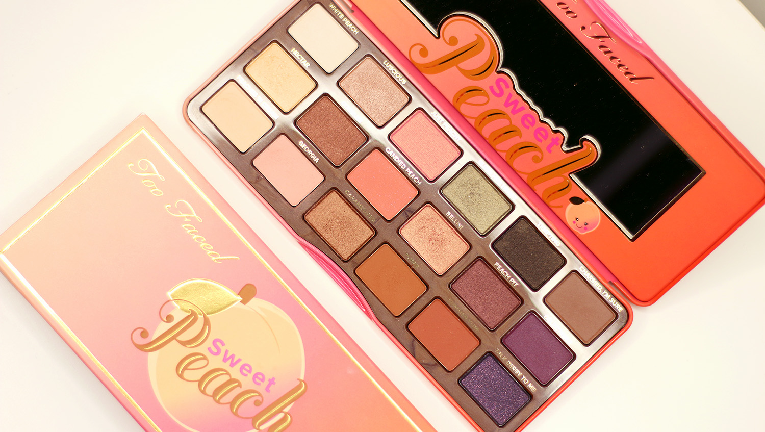 Too Faced, Sweet Peach, Lidschatten, Shopping Haul, USA, Video, Beautyblog, Berlin, Review, Advanceyourstyle