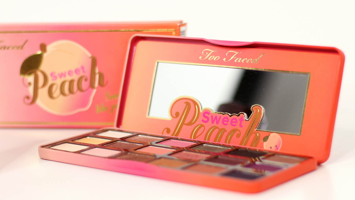 Too Faced, Sweet Peach, Lidschatten, Lidschattenpalette, Shopping Haul, USA, Video, Beautyblog, Berlin, Review, Advanceyourstyle